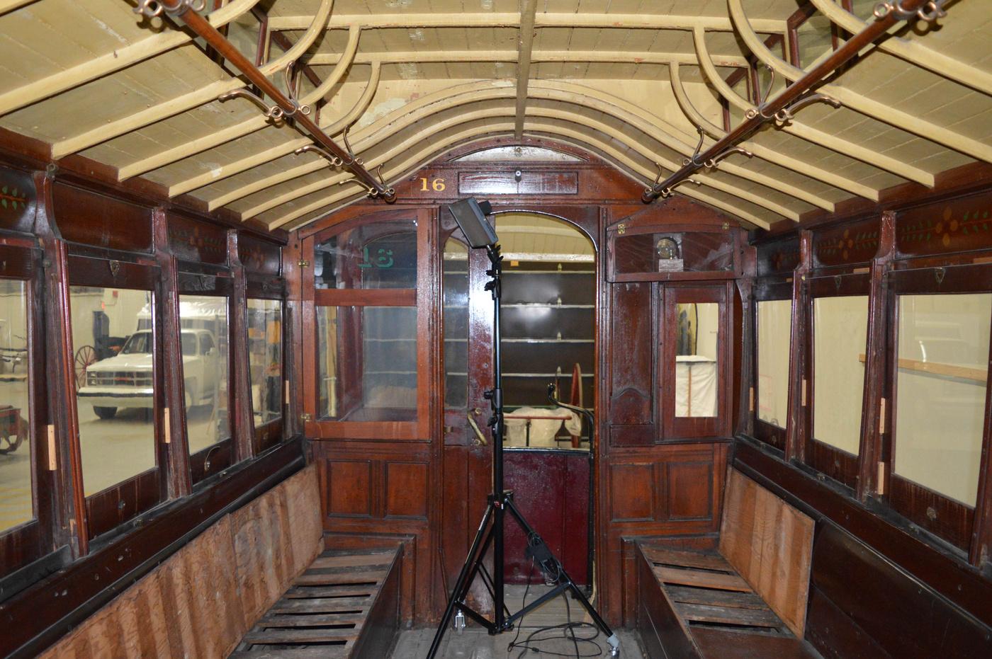toronto horsecar interior