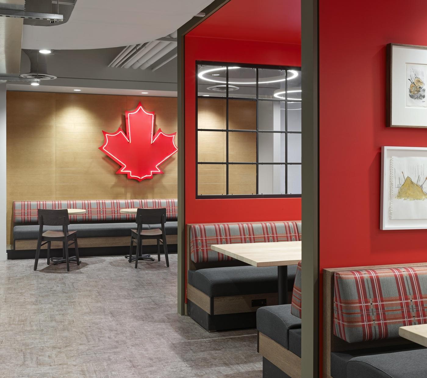 tim hortons new office
