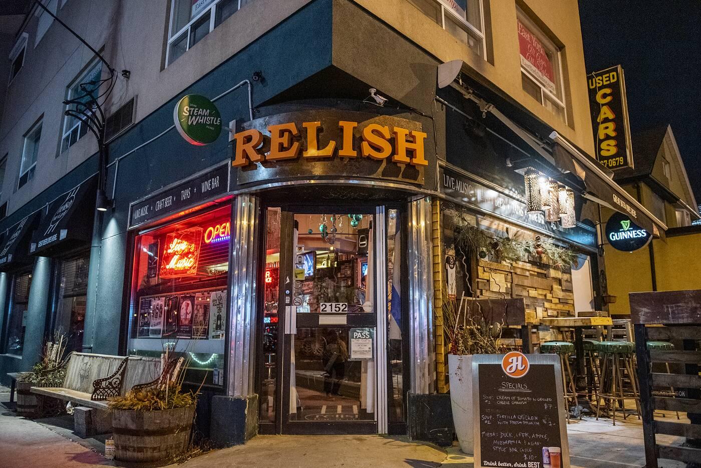 relish toronto