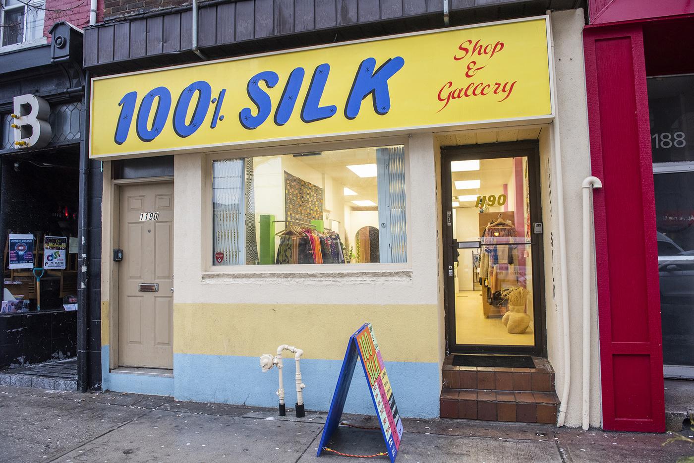 100 silk toronto