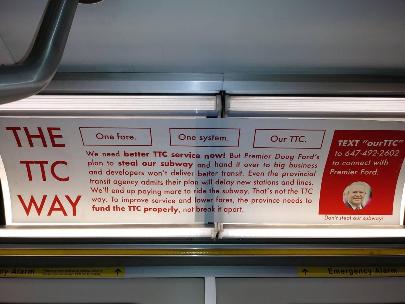 ttc riders campaign