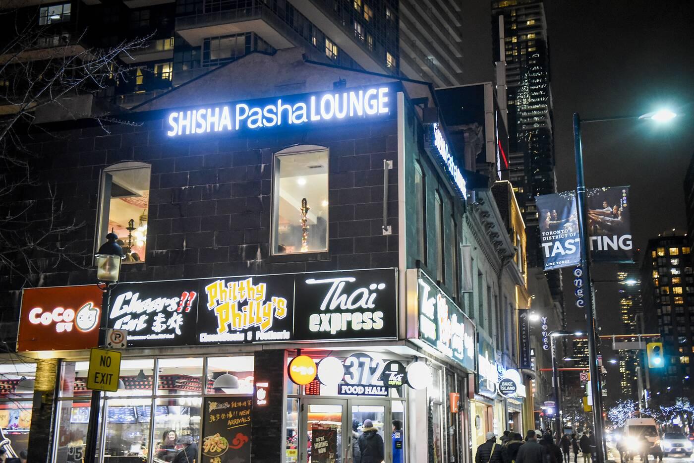 pasha shisha lounge toronto