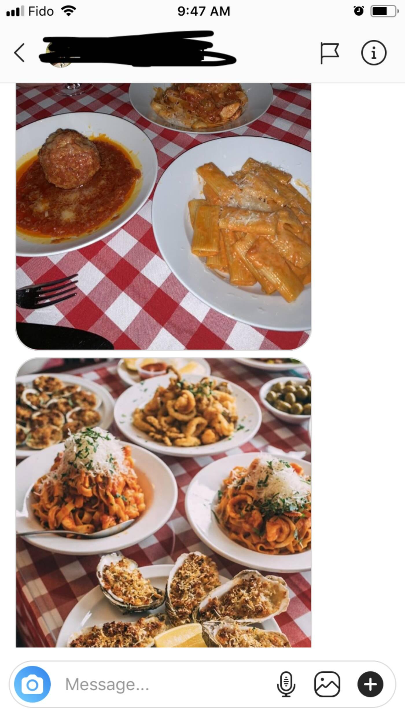 toronto restaurant instagram