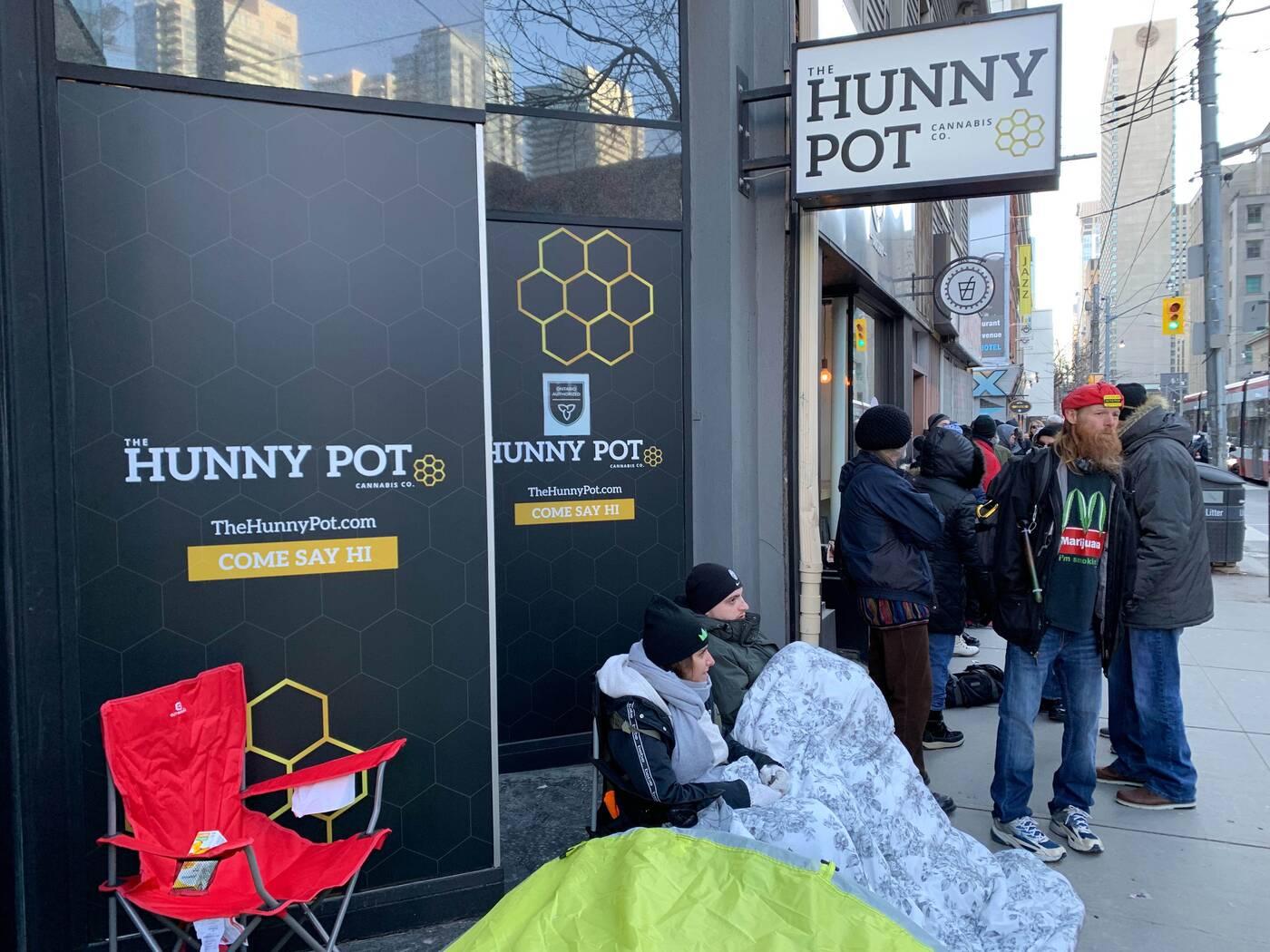 hunny pot cannabis