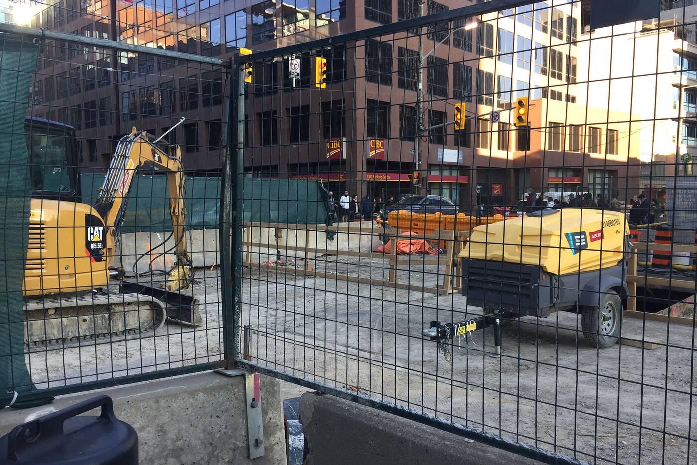 Yonge Eglinton construction