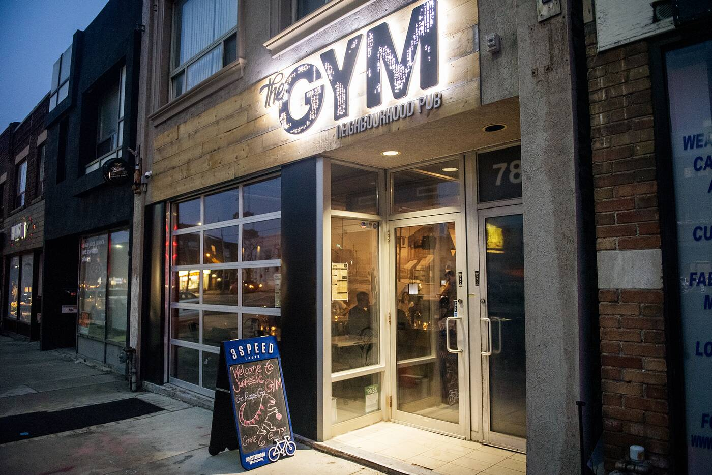 The Gym bar Toronto