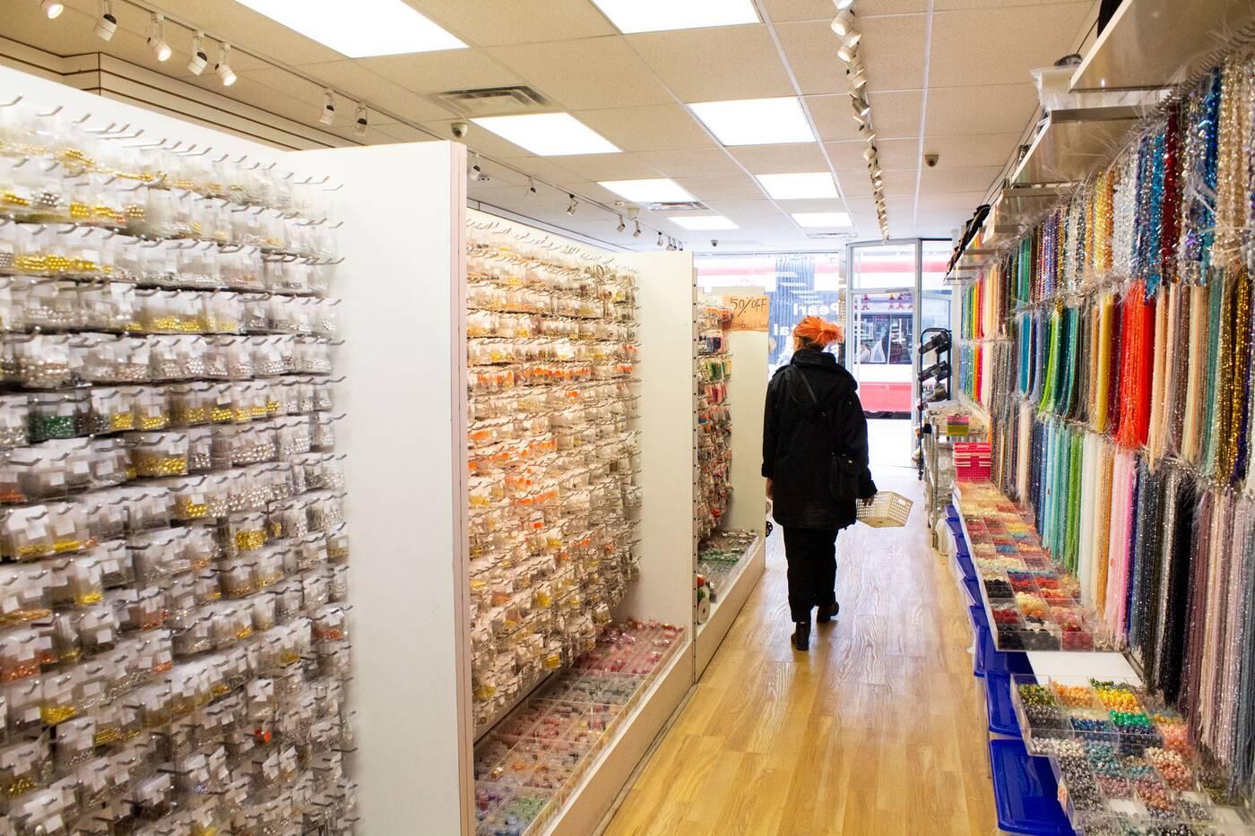 fabric stores toronto
