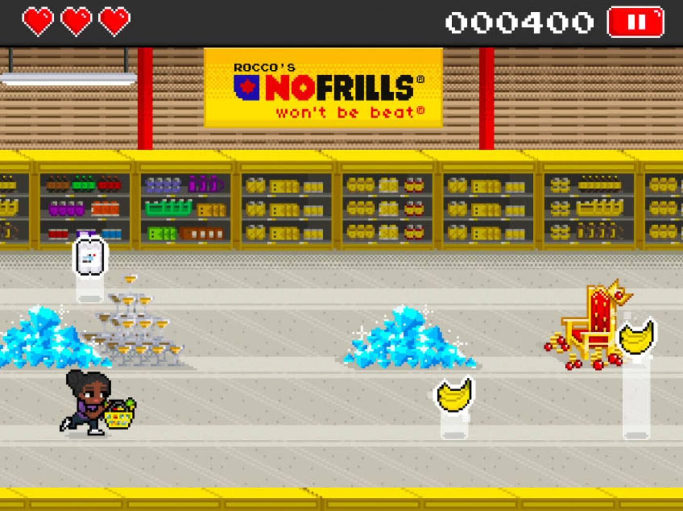 no frills game