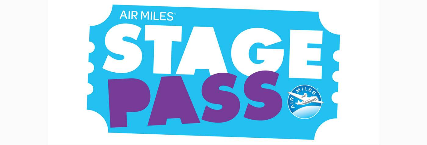 air miles bud stage pass