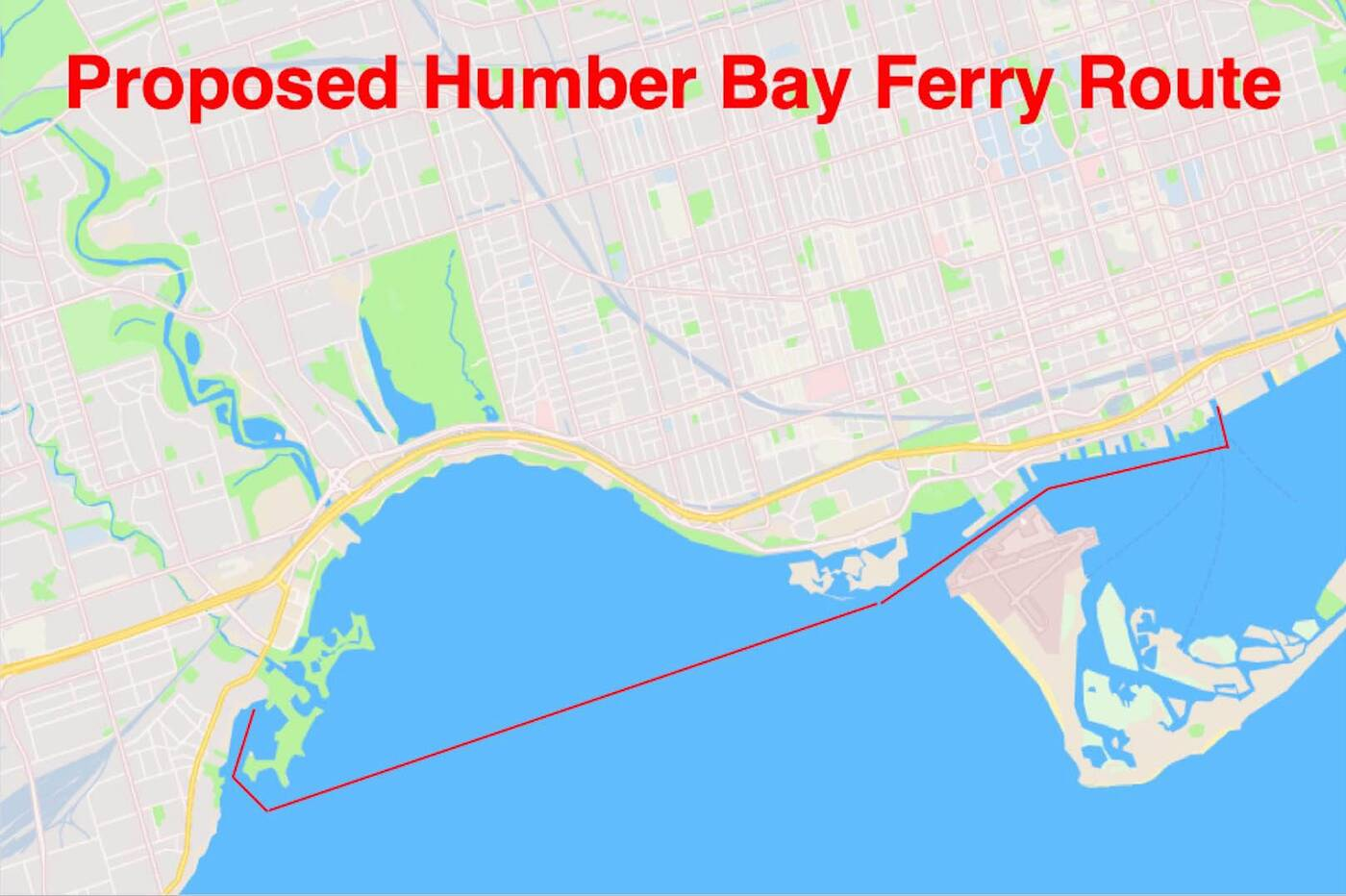 humber bay ferry
