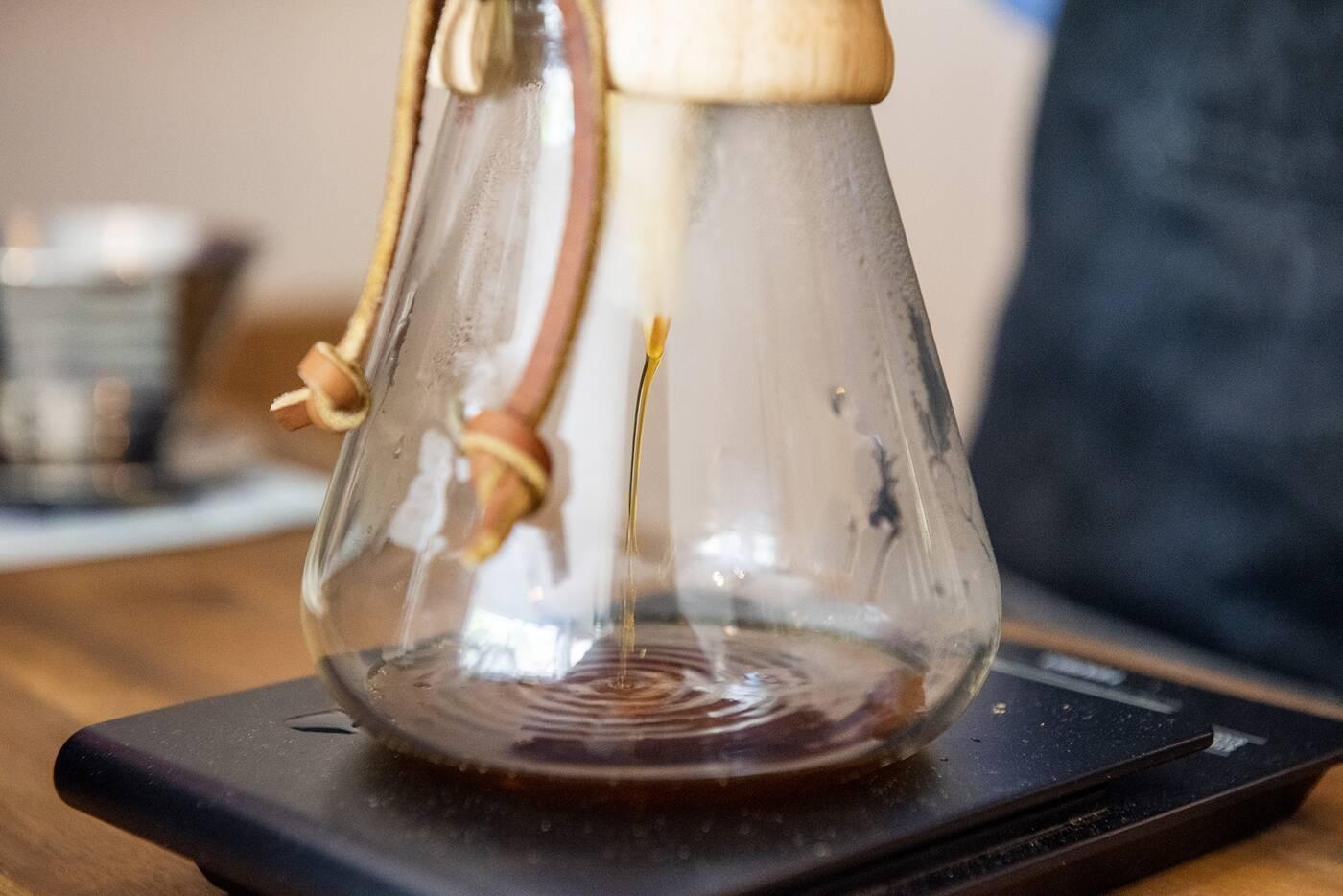At Origin Coffee Toronto