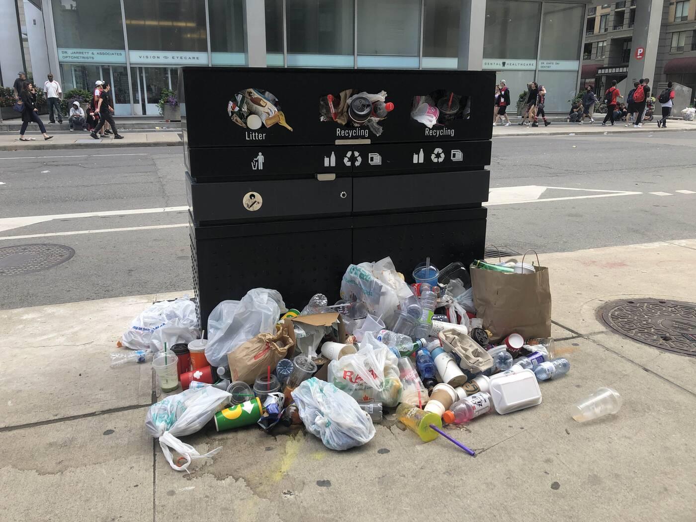 toronto raptors garbage