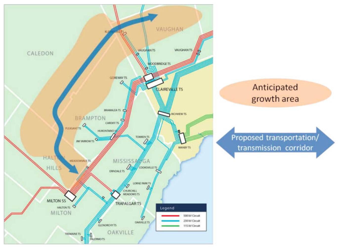 GTA west highway corridor