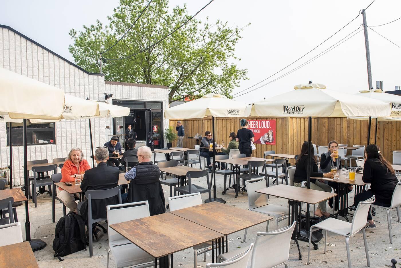 new patios toronto