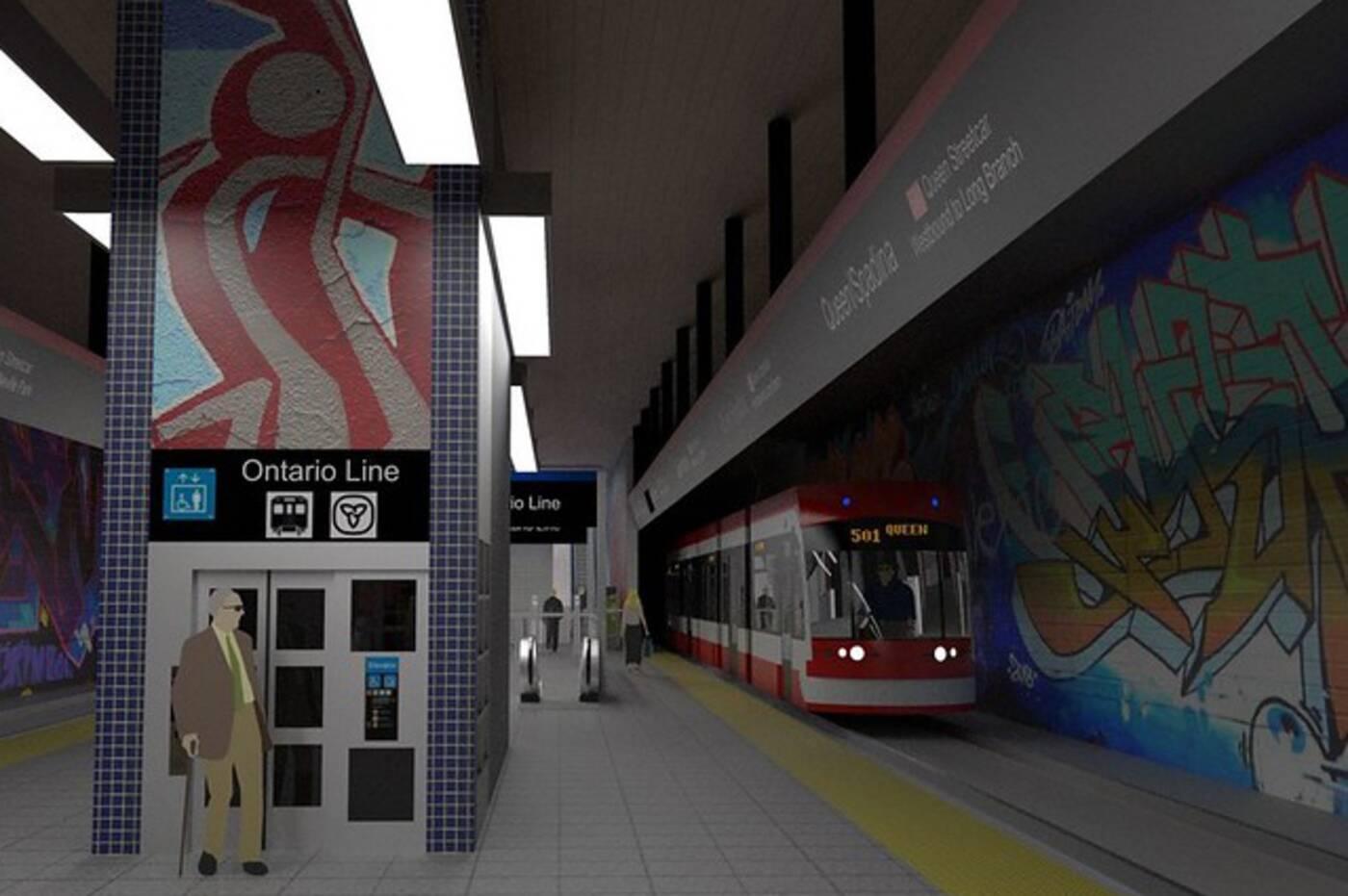 toronto subway design