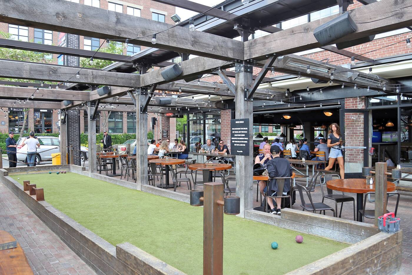 After Work Patio Toronto