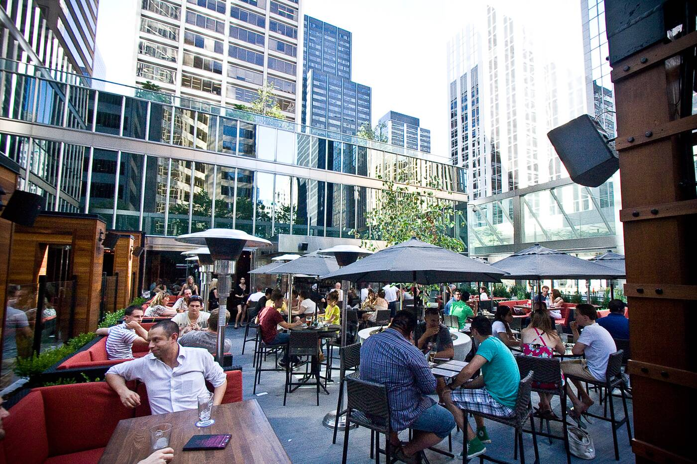 Financial District Patios Toronto