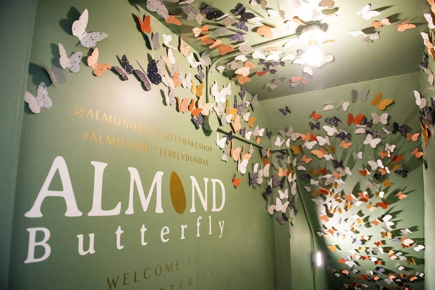 Almond Butterfly Toronto