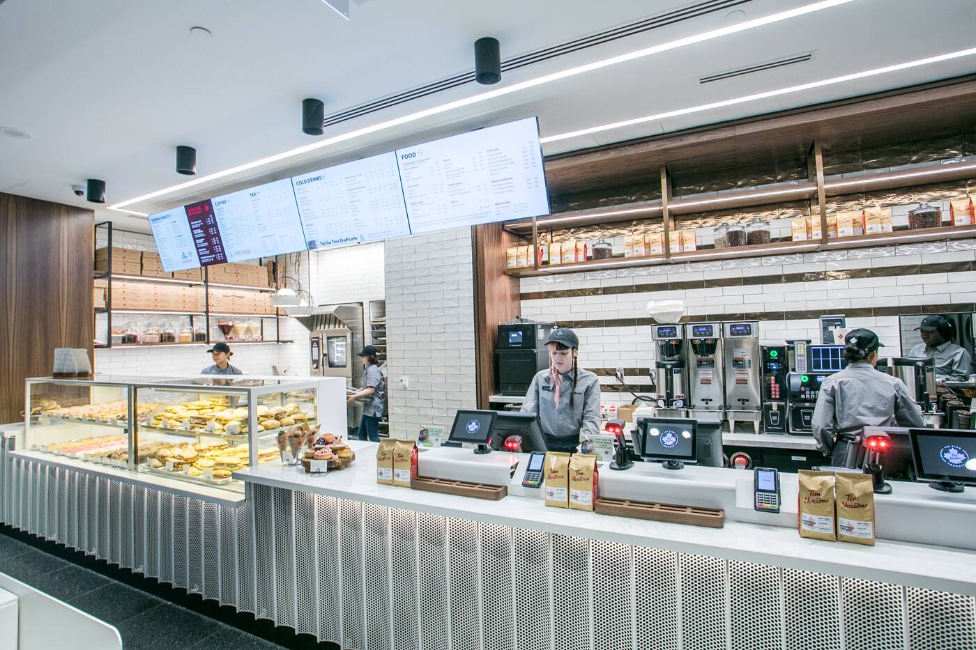 tim hortons innovation cafe