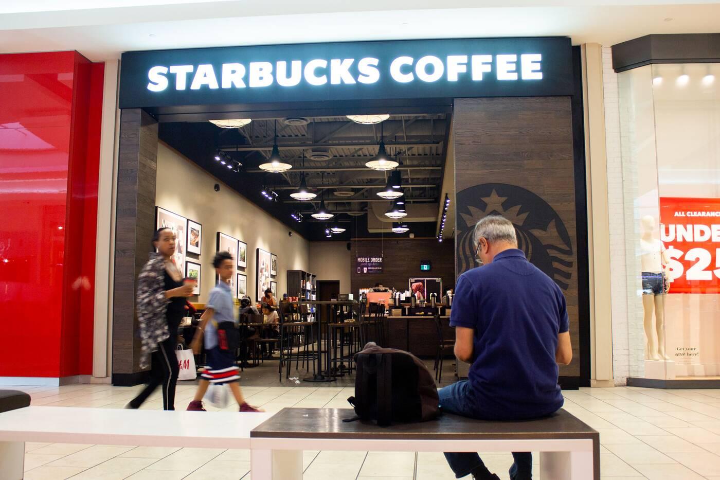 starbucks dufferin mall