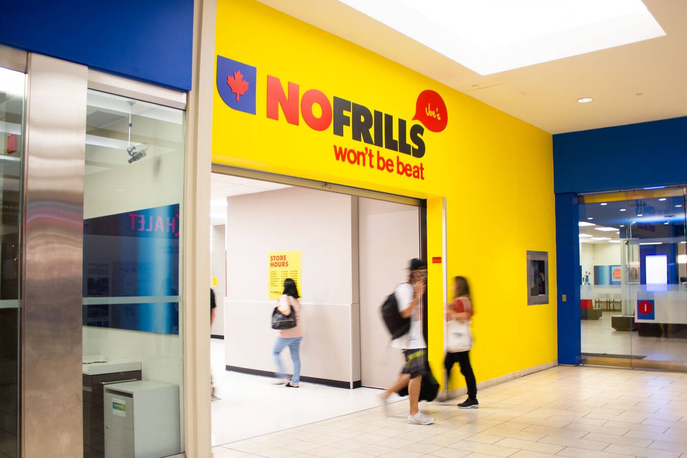 no frills dufferin mall