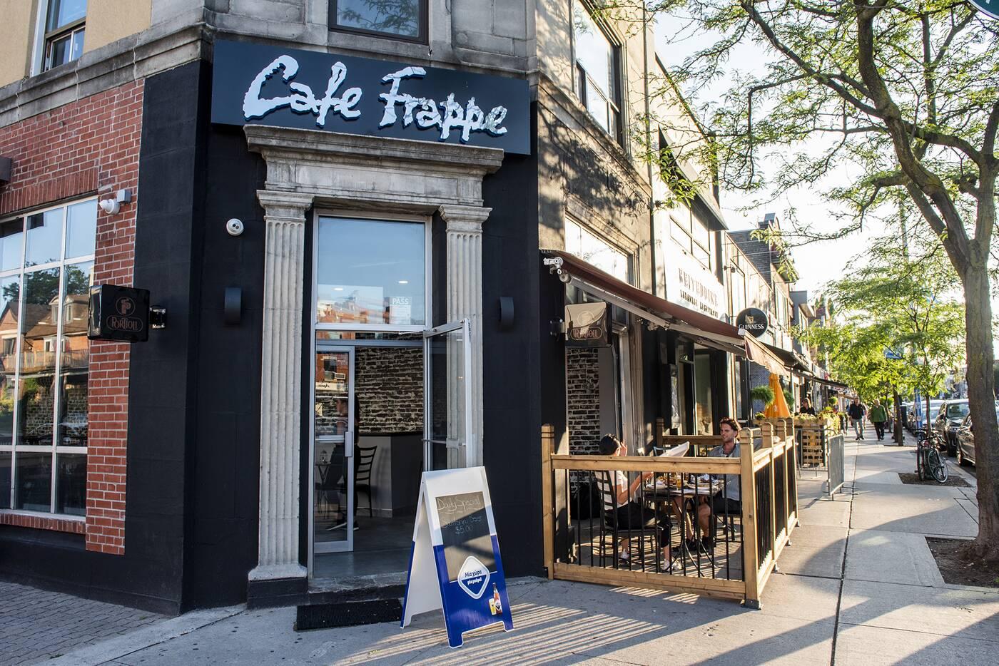 cafe frappe toronto