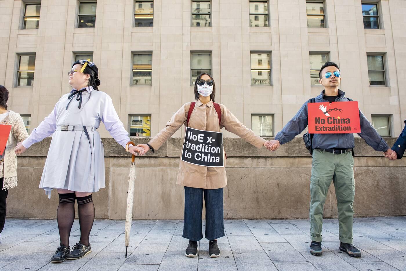 hong kong protest toronto
