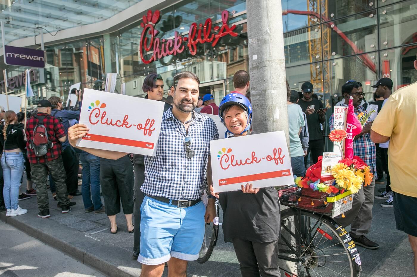 Chick fil A Toronto