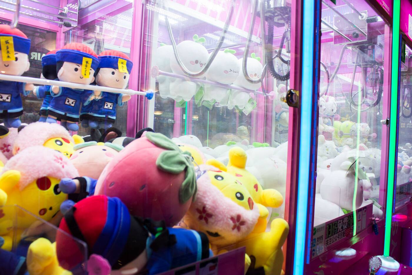 claw game toronto