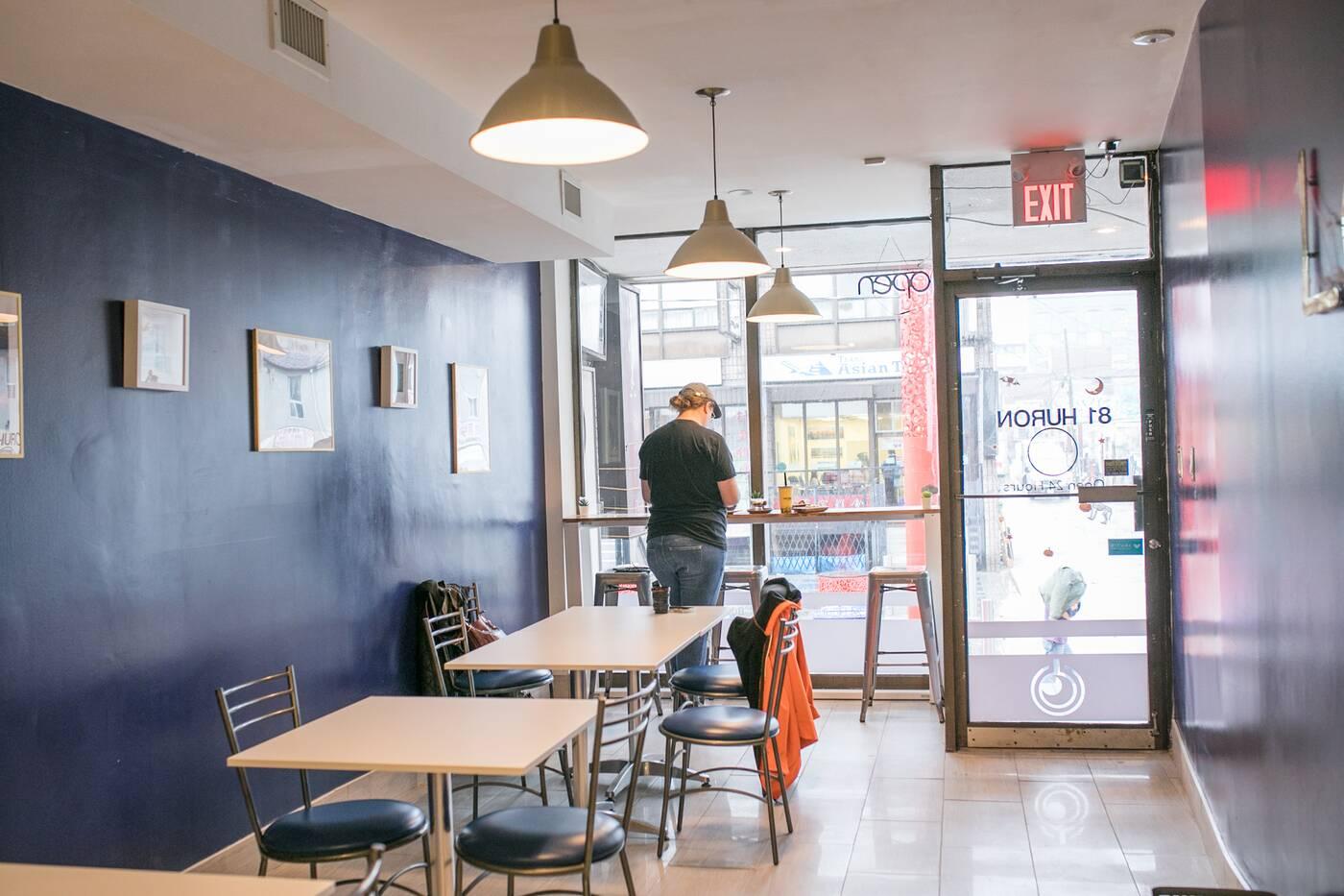 Lait Night Cafe Toronto