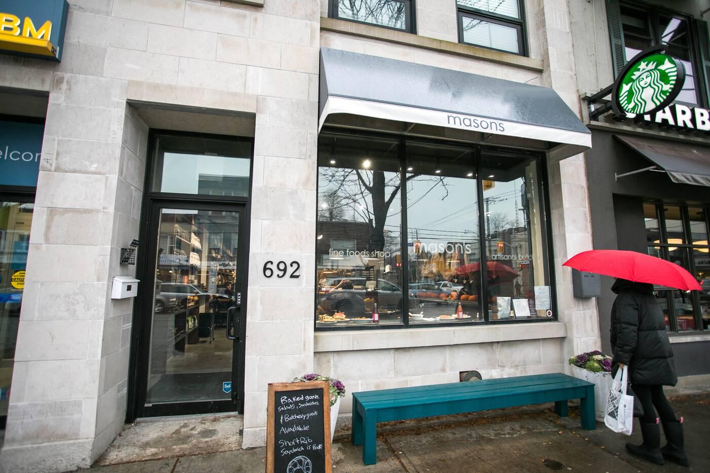 Masons Fine Foods Toronto