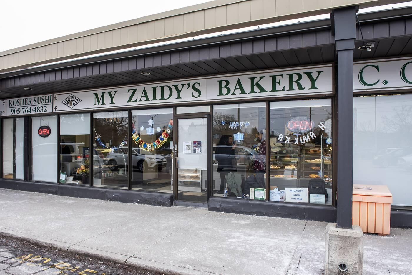my zaidys bakery toronto