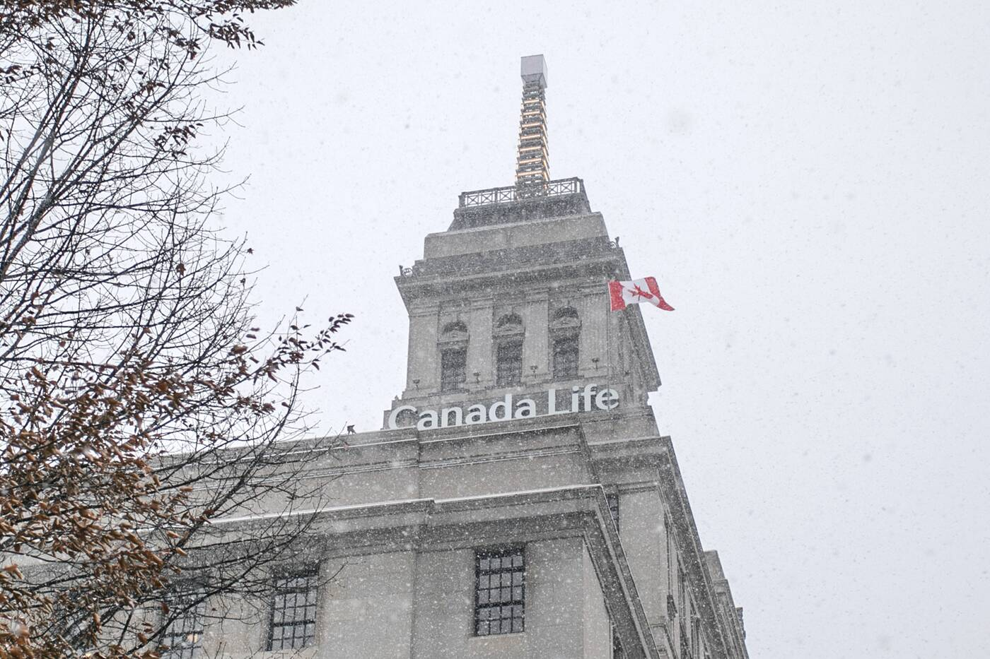 weather beacon canada life toronto