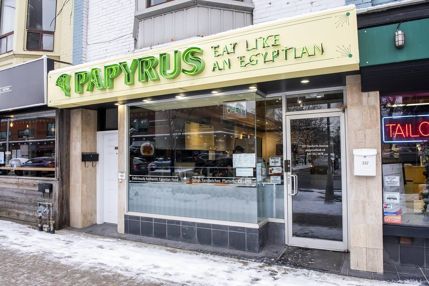 papyrus toronto