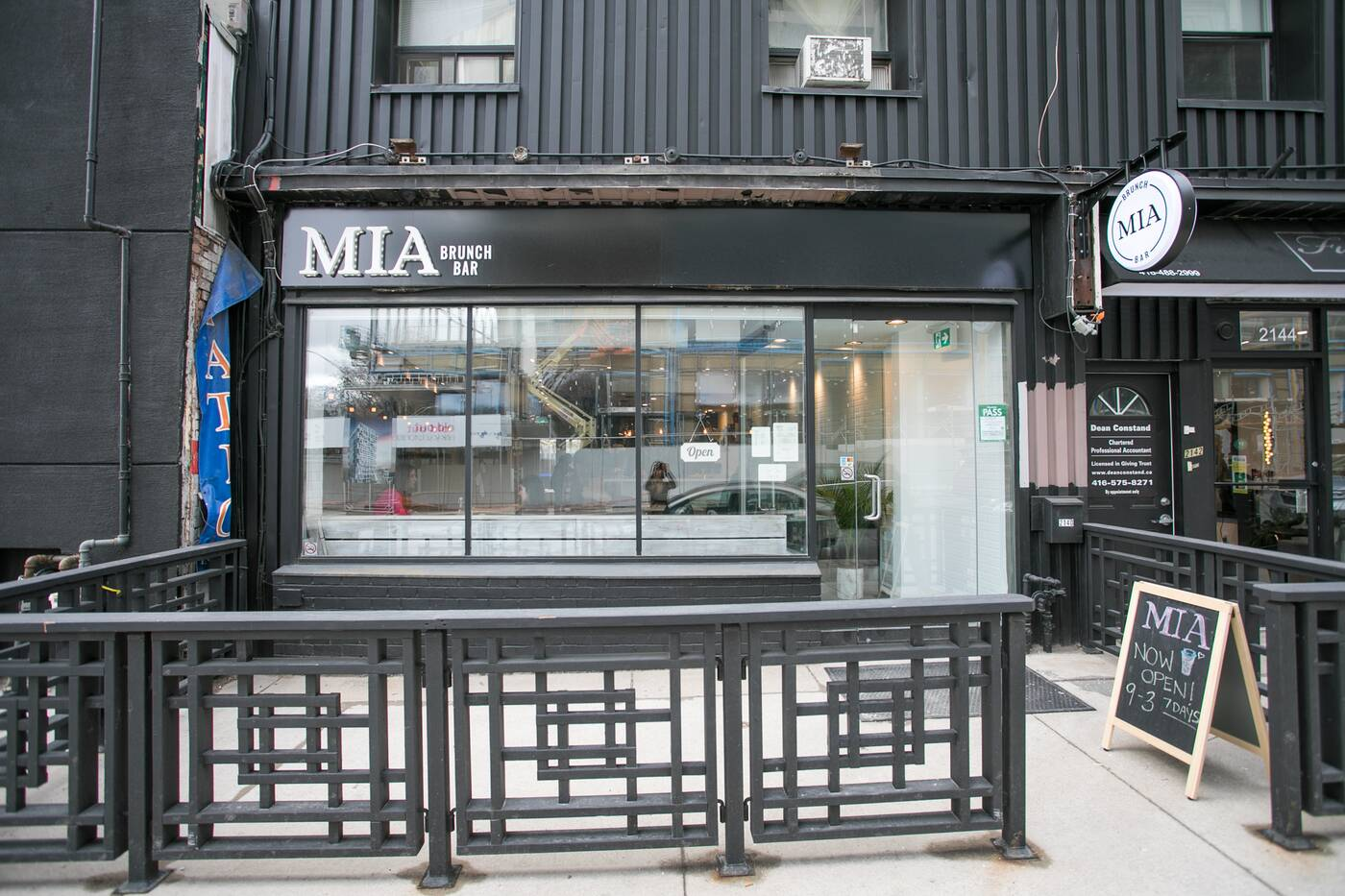 MIA Brunch Bar Toronto