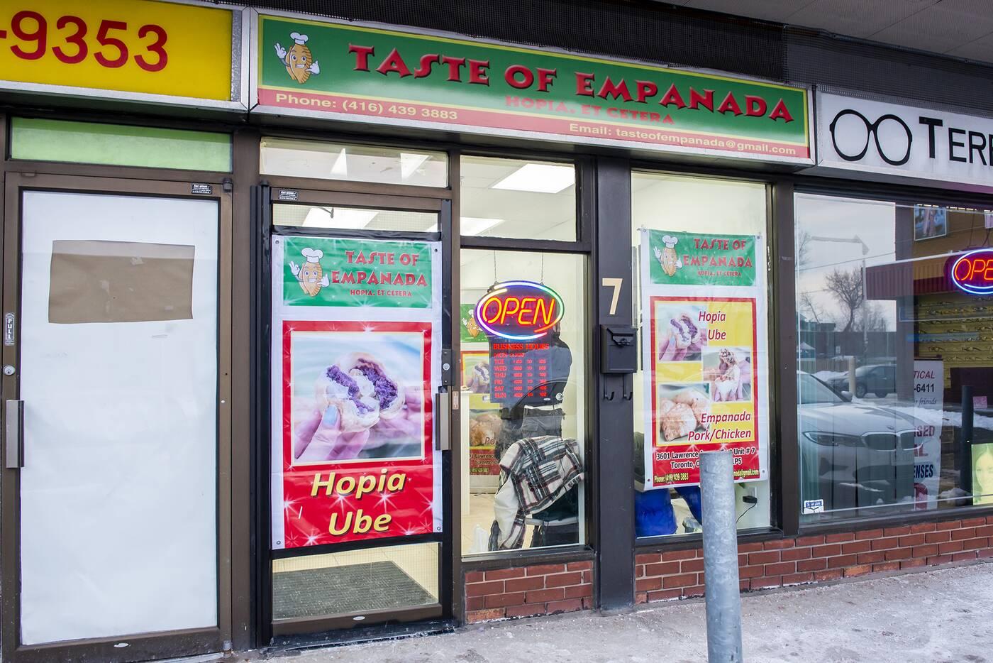 taste of empanada toronto