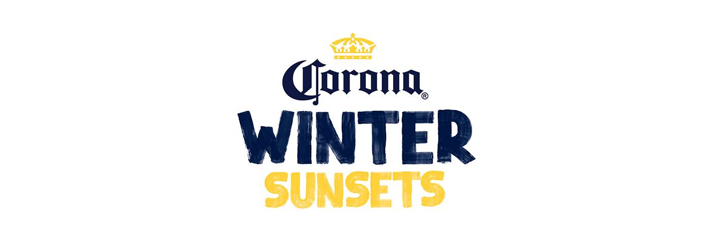 corona winter sunsets