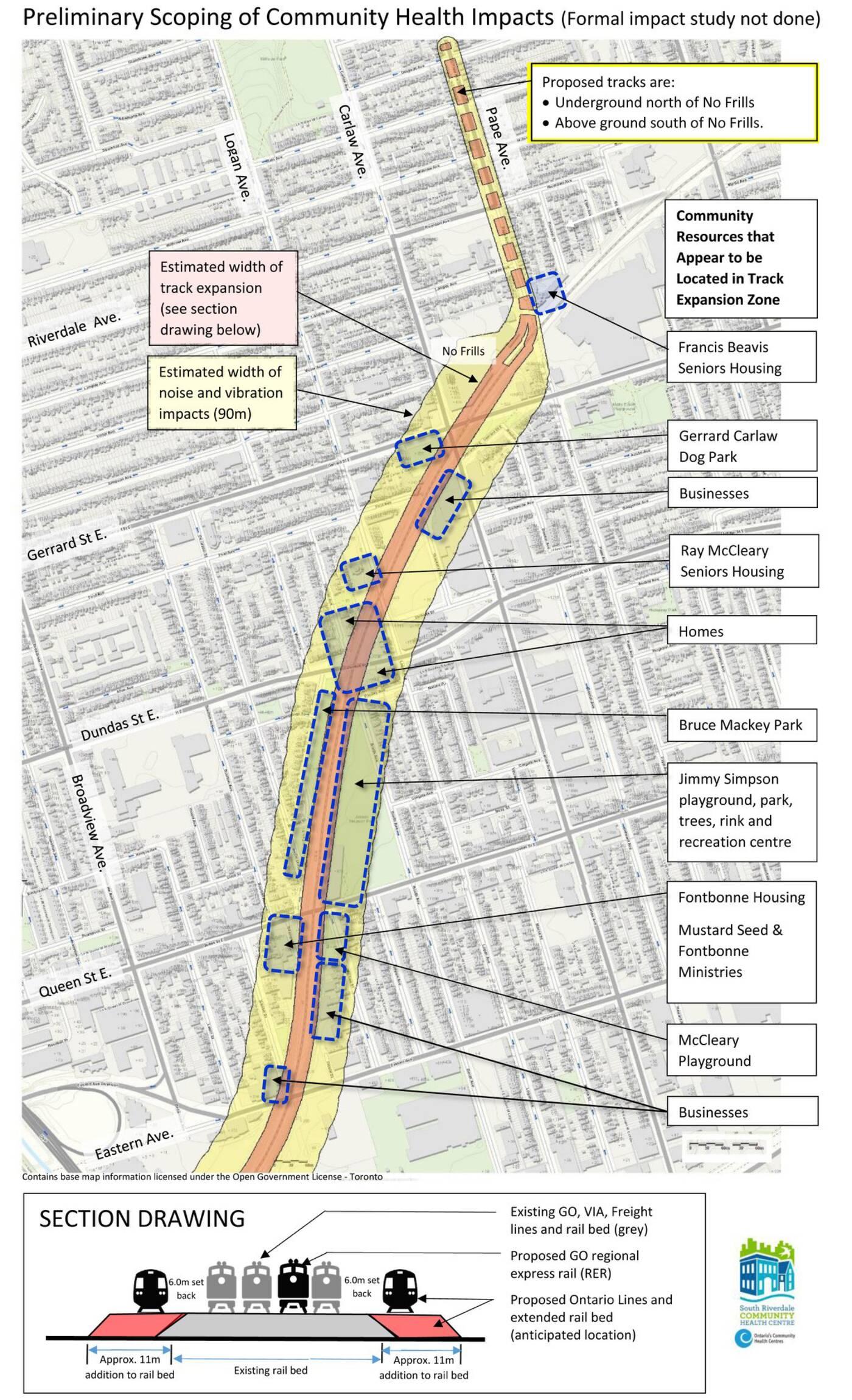 オンタリオ線地図