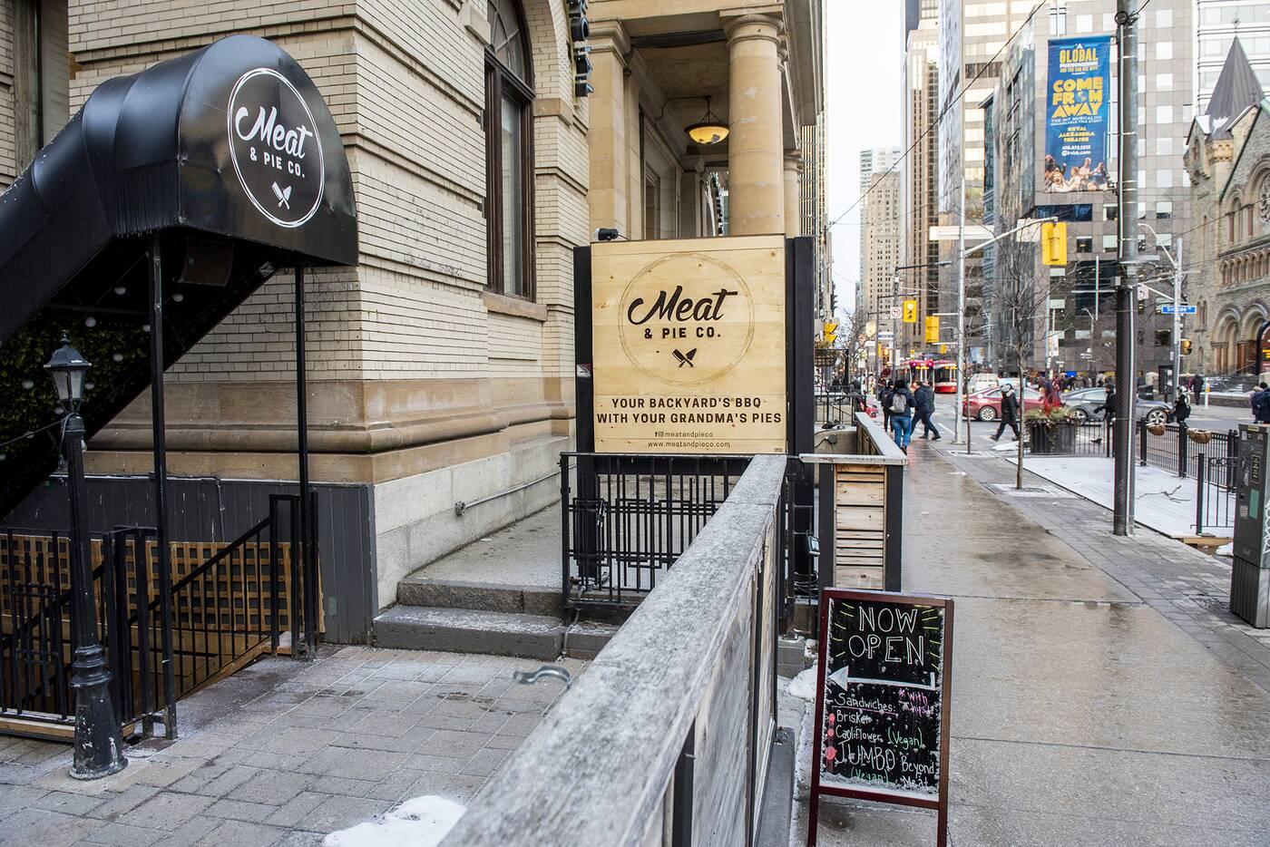 Meat Pie Co Toronto