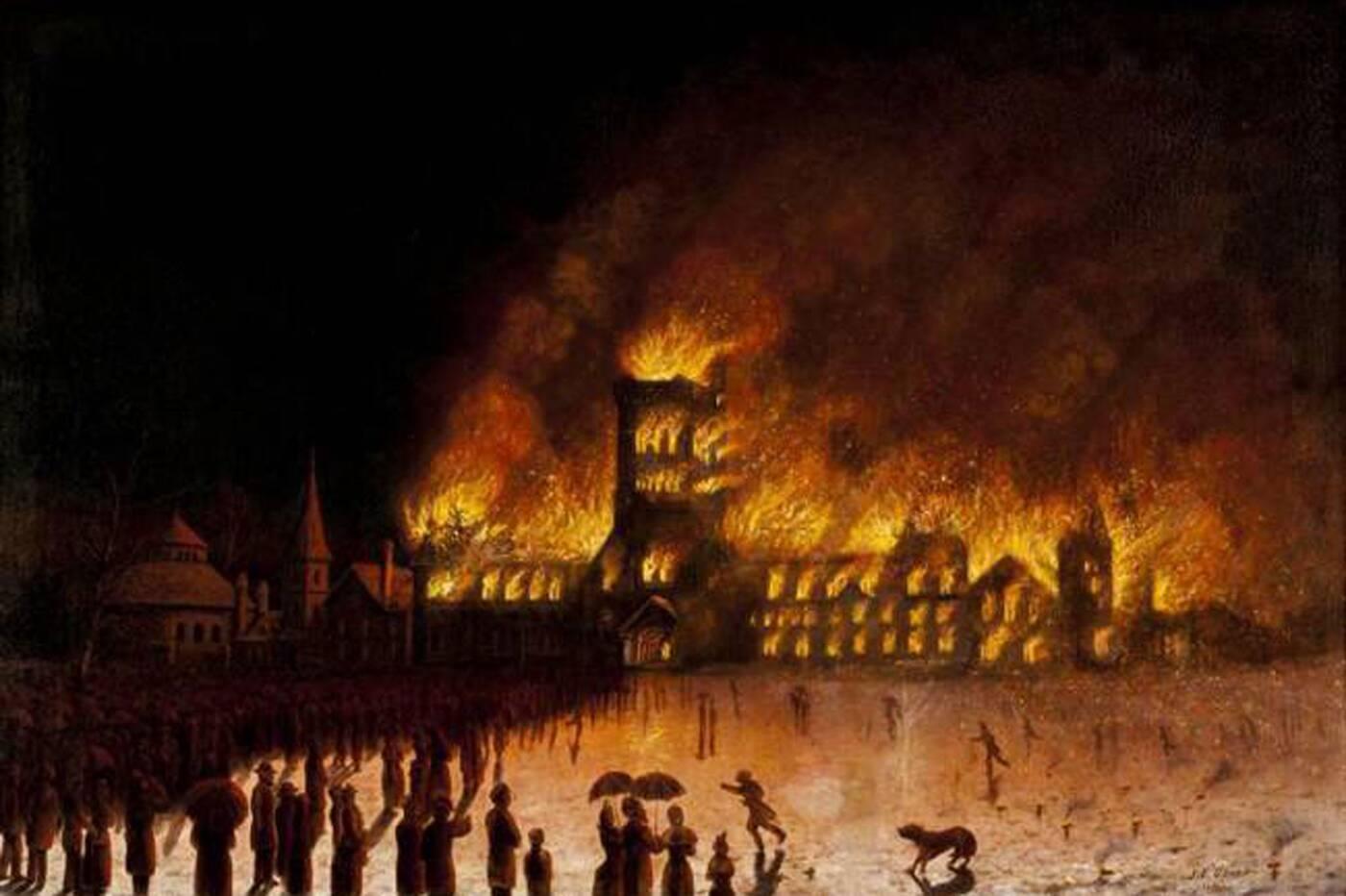 university of toronto fire