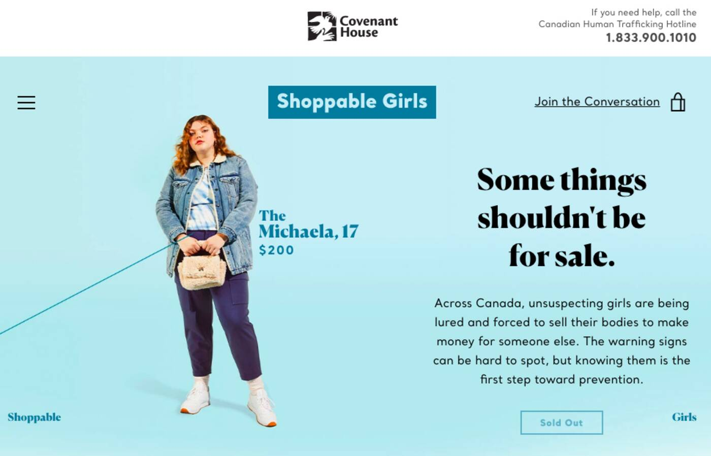 shoppable girls toronto