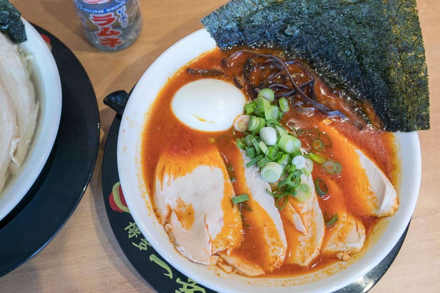 Ikkousha Chicken Ramen Toronto