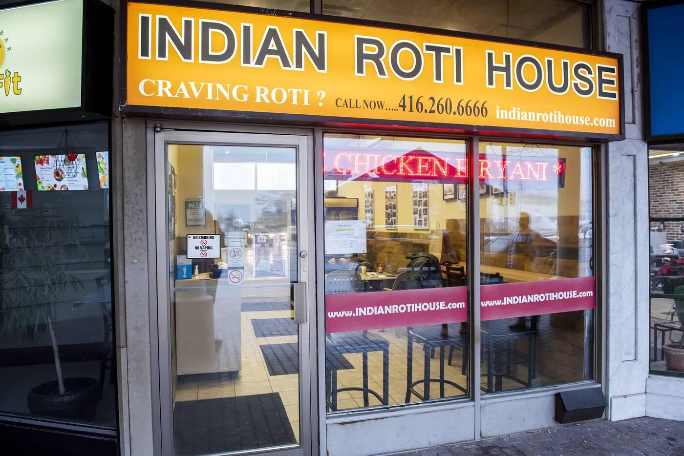 Indian Roti House Toronto