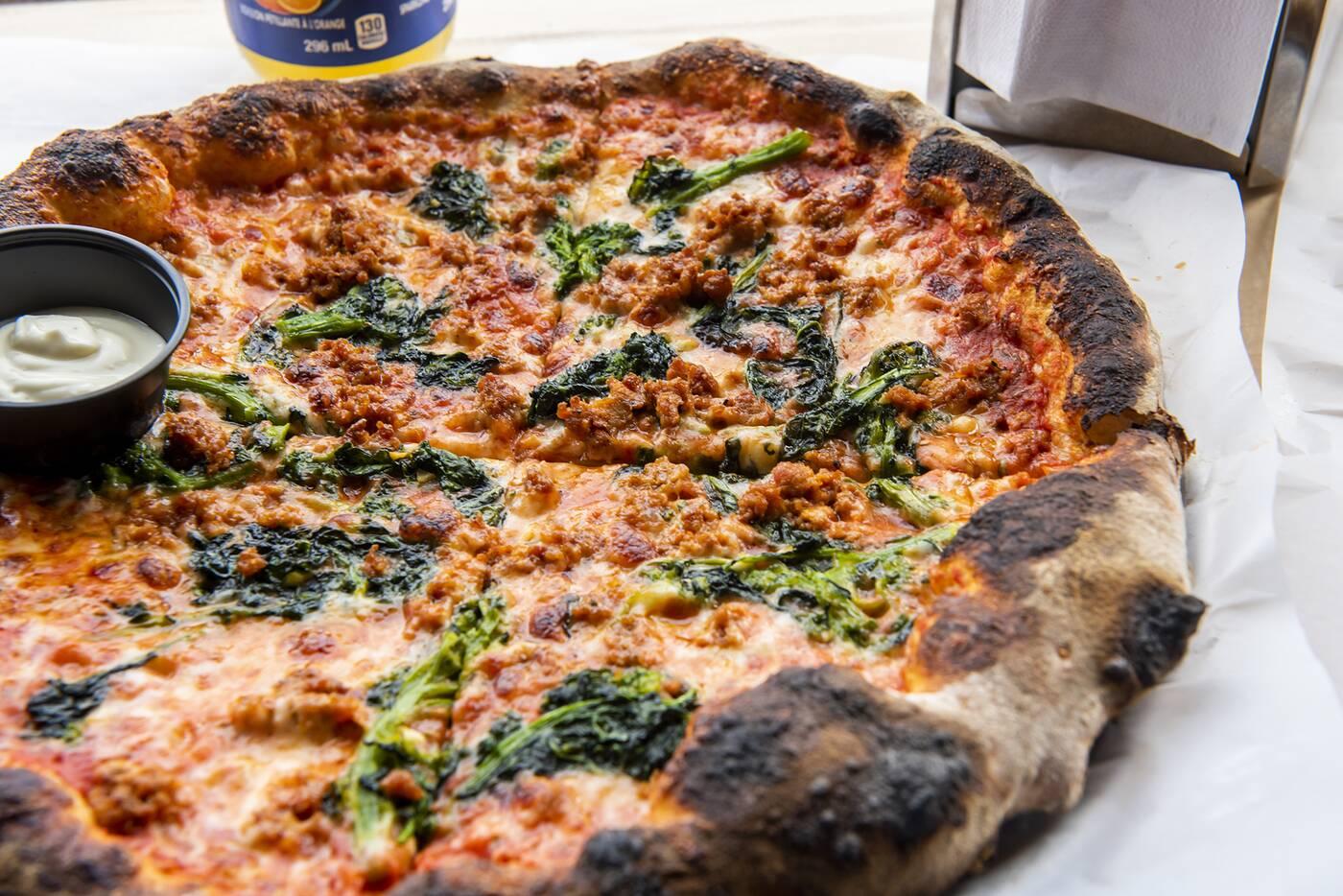 revolver pizza toronto