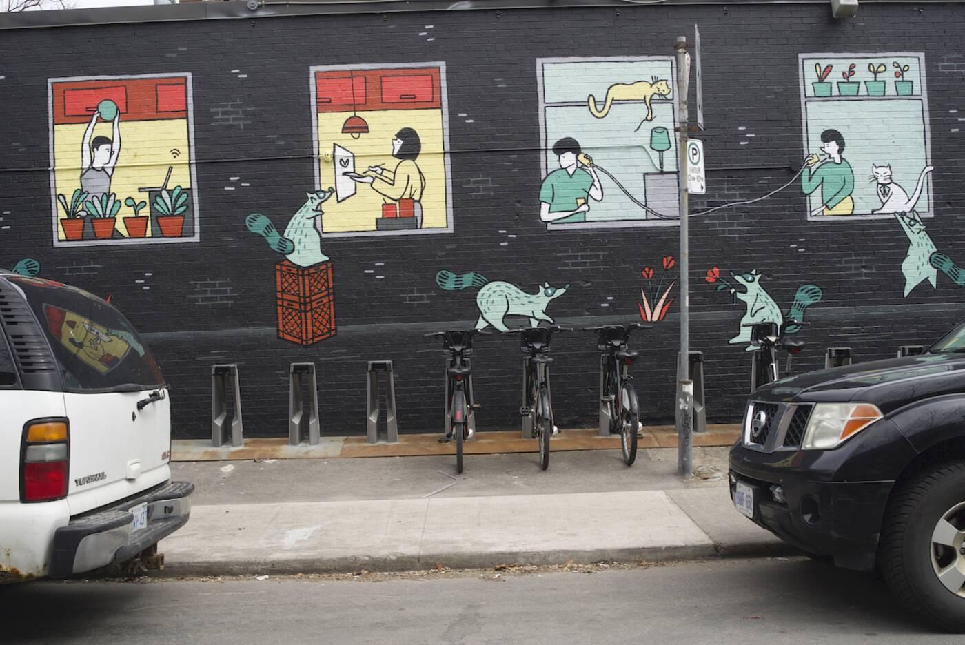 toronto covid 19 murals