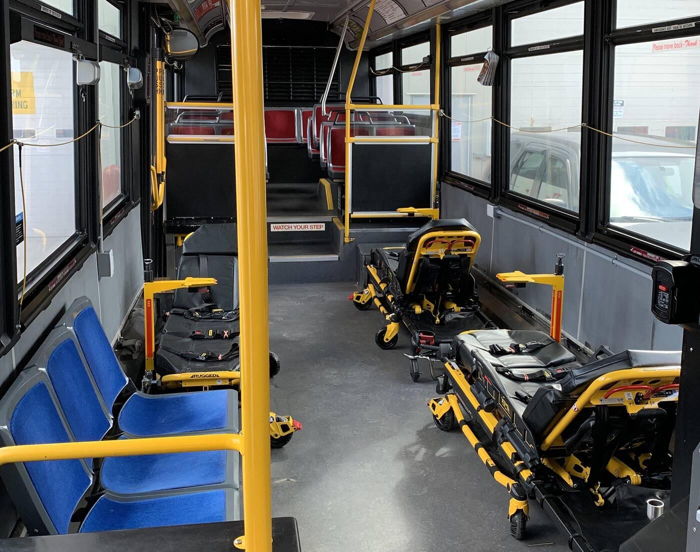 ttc ambulance buses