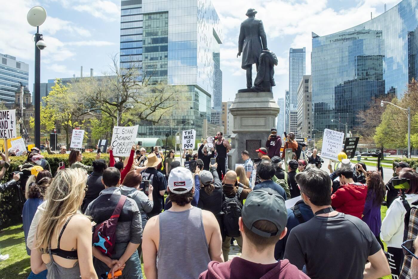 queens park protest