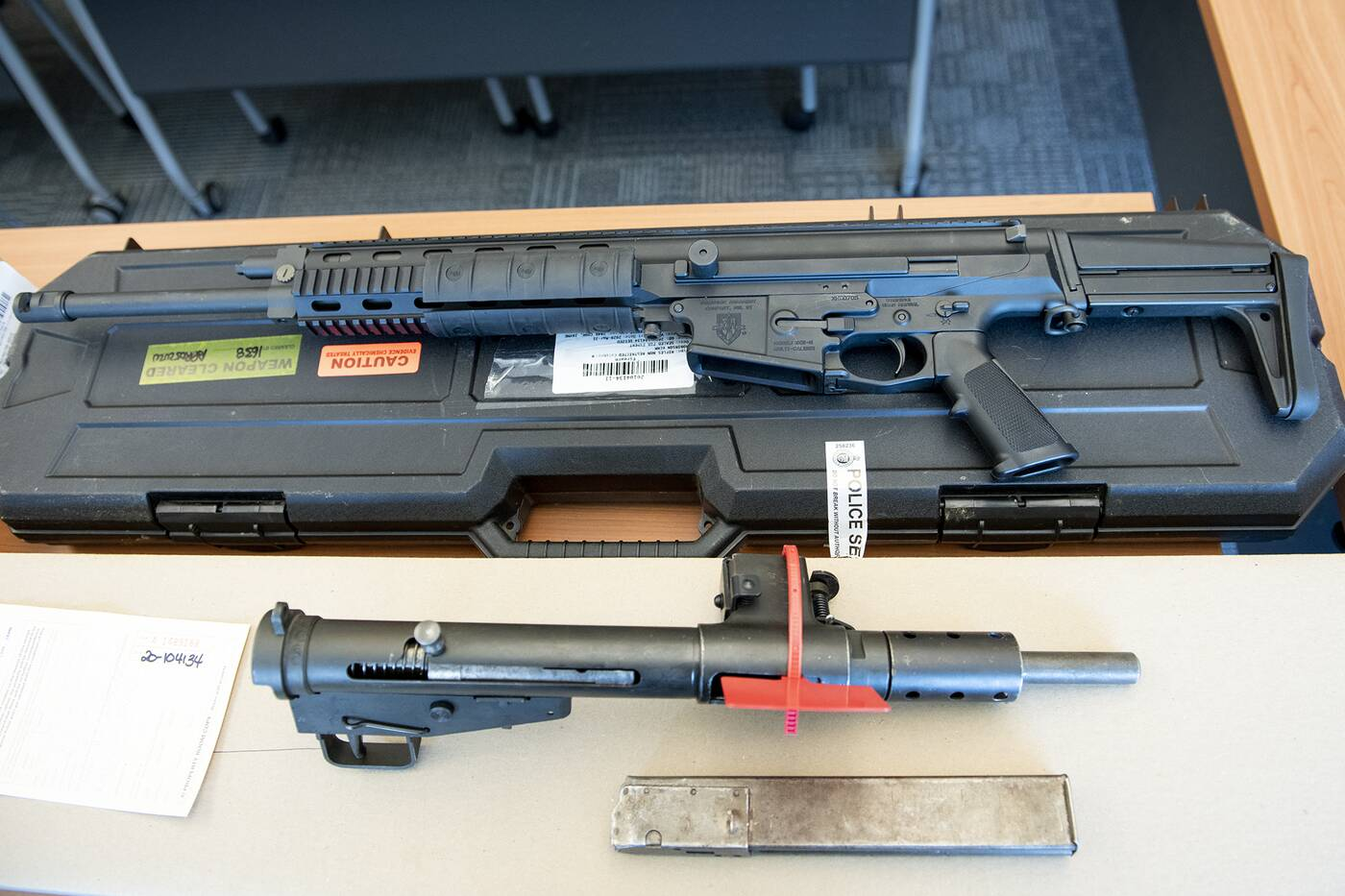 long guns seized by York Regional Police