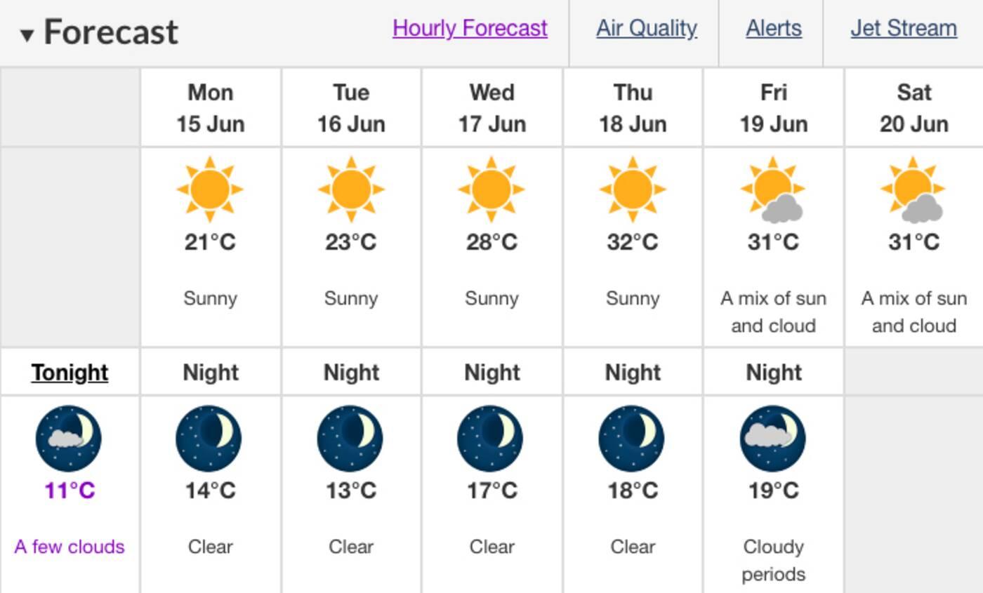 toronto heat wave