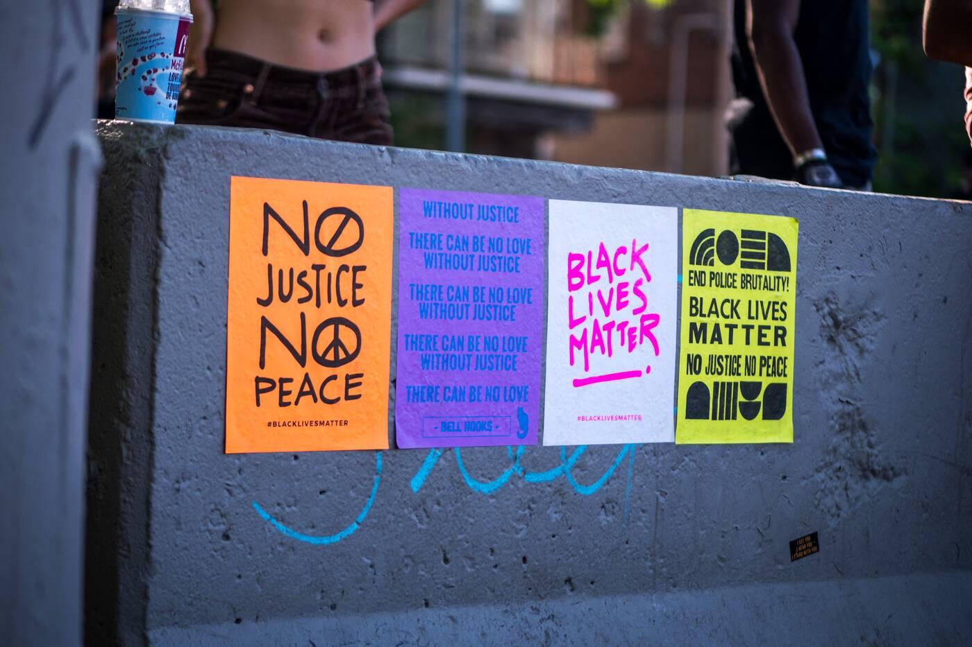 black lives matter skate protest